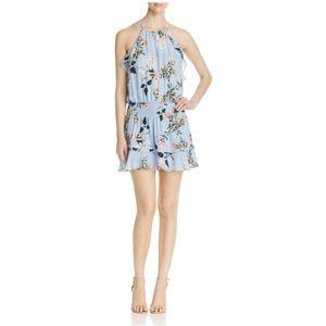 NWOT Parker Williame Silk Halter Dress. Medium